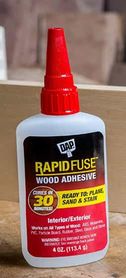 DAP Rapid Fuse Wood Adhesive 4 Ounce