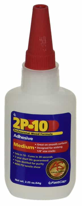 FastCap 80113 2P-10 Professional 2 Ounce Wood Adhesive Glue