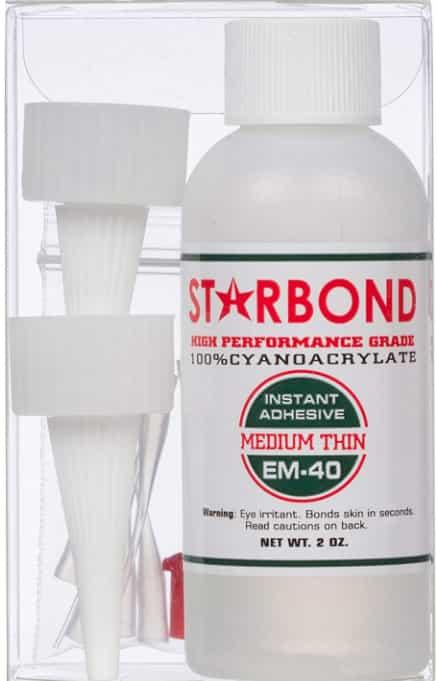 Starbond E-40 Adhesive Wood Super Glue