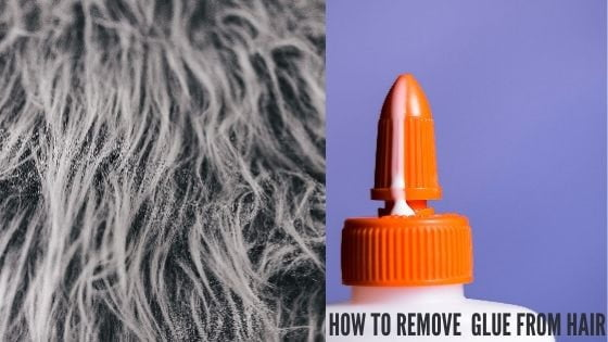How To Remove Glue From Hair.