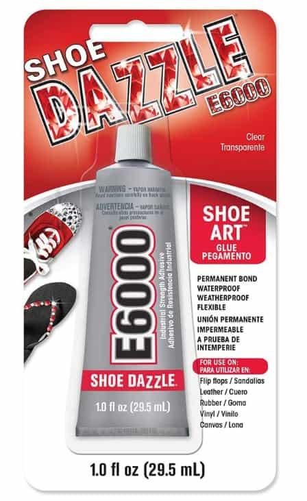 E6000 260111 Shoe Dazzle Adhesive