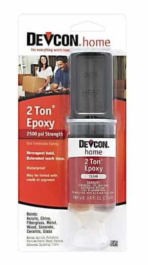 Devcon 31345 2 Ton Clear Epoxy