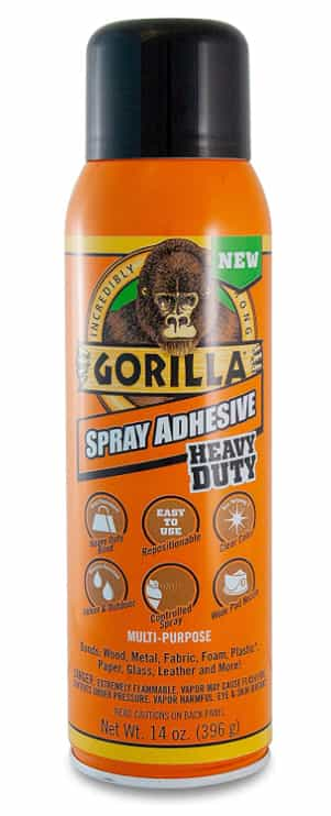 Gorilla Heavy Duty Spray Adhesive