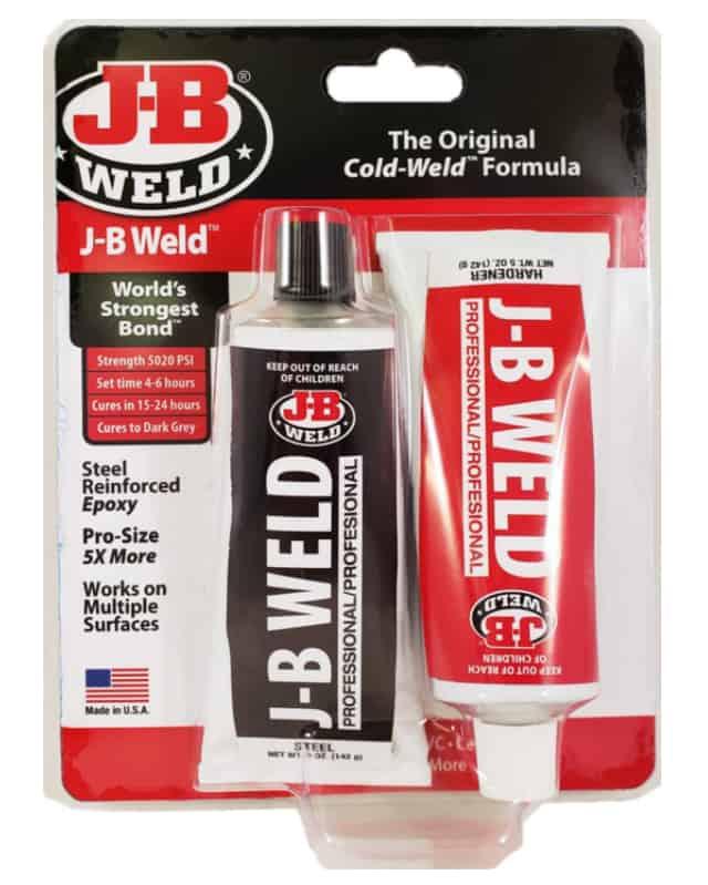 J-B Weld Professional Size Steel Reinforced Epoxy