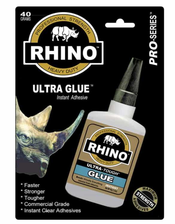 Rhino Glue- Heavy Duty 40 Gram Clear