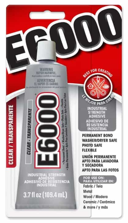 E6000 Industrial strength craft adhesive