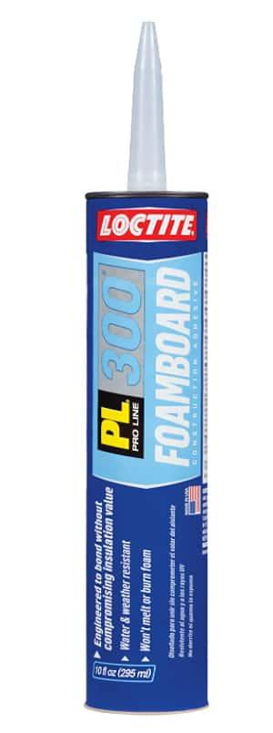 Loctite Foamboard VOC Latex Construction Adhesive